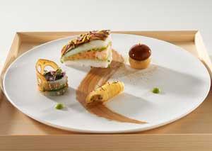 世界最高得点の魚料理