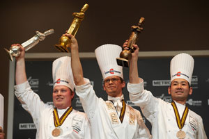 ホテルブレストンコート浜田統之総料理長がボキューズ・ドール フランス本選にて世界第3位獲得