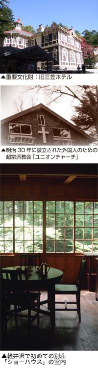 旧三笠ホテル・ユニオンチャーチ・ショーハウス