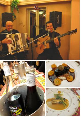ボジョレーヌーボーと南仏料理の夕べ